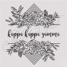 Kappa Kappa Gamma   KKG   Floral T-shirt Design   Sisterhood   Bid Day   Recruitment   Tribal   Geometric   South by Sea   Greek Tee Shirts   Greek Tank Tops   Custom Apparel Design   Custom Greek Apparel   Sorority Tee Shirts   Sorority Tanks   Sorority Shirt Designs
