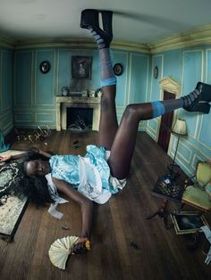 Pirelli's Alice in Wonderland Themed 2018 Calendar, Shot by Tim Walker, featuring an all-black cast, this year's calendar hits on todays issues