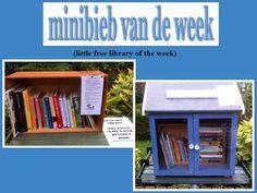 Little free library Upminster. Minibieb van de week 12., bij Jet's Minibieb.