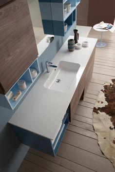 Piccolo ma bello: 6 idee per far risplendere un bagno Extra Small. https://www.homify.it/librodelleidee/633887/piccolo-ma-bello-6-idee-per-far-risplendere-un-bagno-extra-small