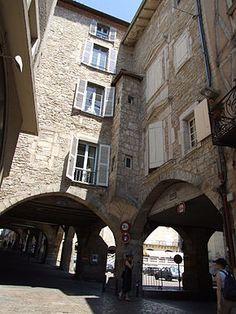 Villefranche-de-Rouergue, Aveyron.