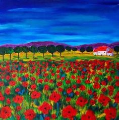 fauve landscape poppies - - Yahoo Image Search Results