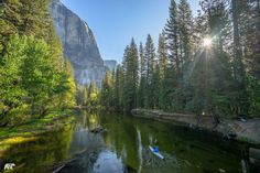 Probably my favorite way to explore Yosemite Valley.  @orukayak   www.chrisburkard.com