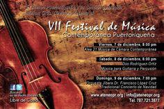 Festival de Música Contemporánea 2012.