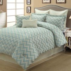 Kimber Chevron 8-pc. Comforter Set