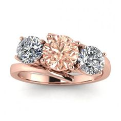 Piece Info: - 14K Rose Gold - Comfort Fit - Hypoallergenic, Cobalt-Free - Sleek Design - Durable - Comes in a Gift box #14k #Rose #Gold #Doreen #Offset #3 #Stone #Morganite #And #Diamond #Ring #Offset #Basket #Setting #Twisted #Band #3 #Stone #Ring #14k #morganite #ring #18k #morganite #ring #rose #gold #engagement #wedding #ring #engagement #ring #rose #gold #morganite #morganite #ring #morganite #engagement #basket #setting #twisted #band #3 #stone #ring #offset #unique #design 3 Stone Diamond Ring, 3 Stone Rings, Stackable Wedding Bands, Wedding Rings, Engagement Bands, Engagement Basket, Morganite Ring, Morganite Engagement, Meteorite Ring