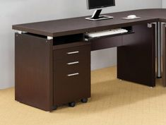 Discount Home Office furniture- Looking for stylish and durable furniture for your office? Enjoy great discounts on ordering home office furniture from our website. Home Office Desks, Home Office Furniture, Furniture Online, Office Setup, Desk Setup, Office Table, Office Ideas, Office Decor, Office File Cabinets