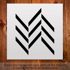 Small Geometric Stencil For DIY.
