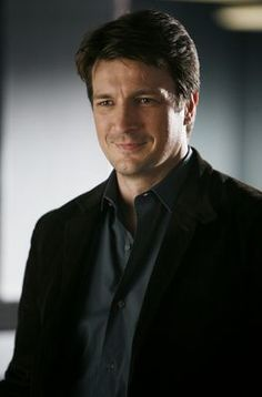 Richard Castle - I totally adore him on the Castle series..... He is very good looking, but it's more his character's personality that I love. Totally charming, good humored and just kind.