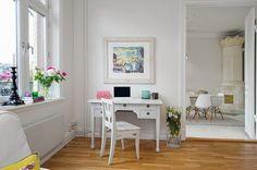 STARE I NOWE Blog wnętrzarski - design, nowoczesne projekty wnętrz: Salon, jadalnia i kuchnia w skandynawskim stylu