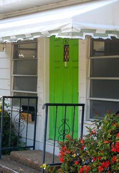 green door.  palm beach | photo by Colleen McCaffrey