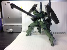 Custom Build: HG 1/144 Graze Fire Support Type - Gundam Kits Collection News and Reviews