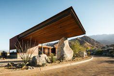Desert Palisades Guardhouse by Studio AR+D Architects