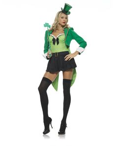 Clover Leprechaun Womens Costume – Spirit Halloween