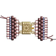 Lots of women start their appeals collection when still in youth, and the charm bracelet grows together with them, reflecting pastimes and experiences. Seed Bead Bracelets Tutorials, Beaded Bracelet Patterns, Beading Tutorials, Handmade Bracelets, Earrings Handmade, Beading Patterns, Ankle Bracelets, Silver Bracelets, Beaded Bracelets