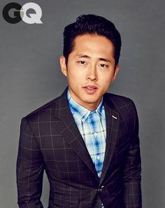 steven yeun gq magazine march 2014