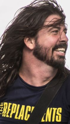 Dave Grohl wearing a replacements shirt!  Two of my favs!!!!!!!!