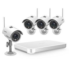 Special Offers - Zmodo 4CH NVR Wireless WiFi 720p HD Outdoor Indoor Smart Security Camera System 500GB Hard Drive - In stock & Free Shipping. You can save more money! Check It (June 17 2016 at 12:44PM) >> http://motionsensorusa.net/zmodo-4ch-nvr-wireless-wifi-720p-hd-outdoor-indoor-smart-security-camera-system-500gb-hard-drive/