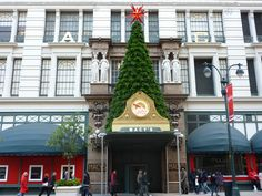 Macys in New York at Christmas