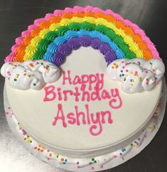 Exclusive Photo of Round Birthday Cakes . Round Birthday Cakes Rainbow Dq Ice Cream Cake Cake Id. Round Birthday Cakes, Birthday Sheet Cakes, Round Cakes, Rainbow Birthday Cakes, Birthday Ideas, Happy Birthday, 5th Birthday, Birthday Cake For Kids, Simple Birthday Cake Designs