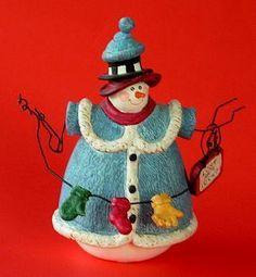 Sandi Gore Evans Jolly Follies To Grandma S House Snowman