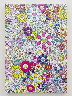 Takashi Murakami | An Homage to Yves Klein Multicolor, G (2013), Available for Sale | Artsy