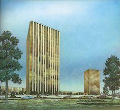 Neuhaus and Taylor. Architectural Record. Nov 1971: 193