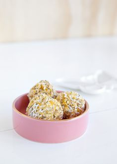 We're sharing our favourite apricot Bliss Ball recipe for a tasty, healthy, no bake treat