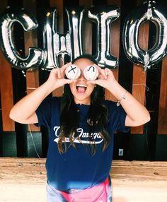 Custom bid day shirts for University of Arizona Chi Omega, only from The Social Life! #custom #bidday #chiomega #recruitment #thesociallife #sorority