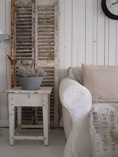 Old shutters.