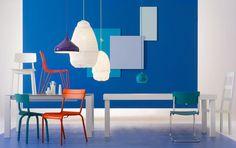 Fantastisch Wohnen Mit Farben   Einrichten Mit Blau: Rot Als Akzentfarbe