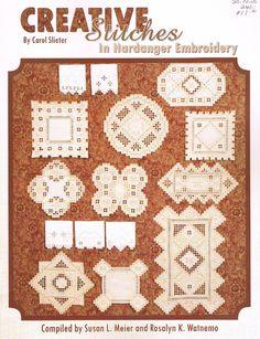 Tvorivé Stehy v Hardangerskou výšivka Carol Slieter - Hardangeru obrúsok…