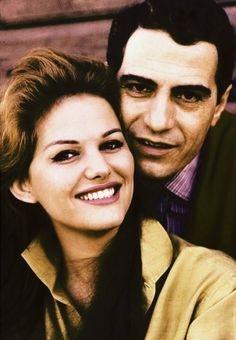 Claudia Cardinale and Nino Manfredi.Photo by Chiara Samugheo.