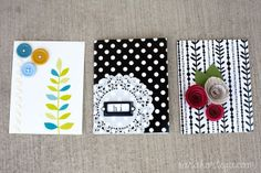 Sarah Ortega: homemade cards (the quick and easy version)