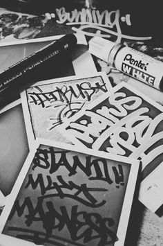 Birminghams & Bristol graffiti store and international mail order service Graffiti Tagging, Graffiti Lettering, Wreck This Journal Everywhere, Grafitti Street, Visual Aesthetics, Hip Hop, Chicano Art, Dope Art, Graphic Design Typography