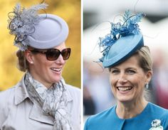 Royal Hats...Sophie and Zara