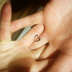 Clever tattoo alert!  High-five to whoever thought of this love heart tattoo.