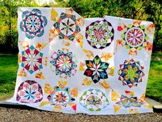 You have to see Celestial Star Quilt Top on Craftsy! - Looking for quilting project inspiration? Check out Celestial Star Quilt Top by member DianeBohn. Paper Pieced Quilt Patterns, Modern Quilt Patterns, Pattern Paper, Block Patterns, Geometric Patterns, Quilting Patterns, Star Quilt Blocks, Star Quilts, Scrappy Quilts