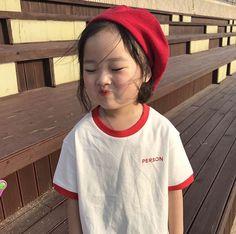 Cute Asian Babies, Asian Kids, Cute Babies, Korean Baby Girl, Korean Babies, Cute Baby Meme, Baby Memes, Cute Little Baby, Little Babies
