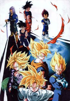 Collecting, posting, and preserving only the best possible quality scans of original Japanese promotional artwork for Dragon Ball, Dragon Ball Z, and Dragon Ball GT from 1986 - 1997 Dragon Ball Gt, Kid Buu, Manga Anime, Anime Art, Z Arts, Animation, Anime Shows, Anime Comics, Digimon