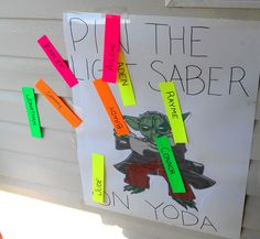 The Tangerine: Jonathan's Star Wars Party