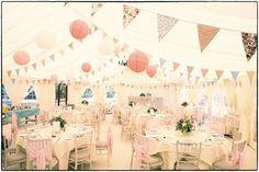 Flowery wedding