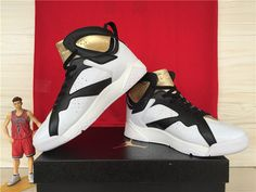new arrival c7b87 67a14 Air Jordan 7 Champagne White Gold Black,Price  48