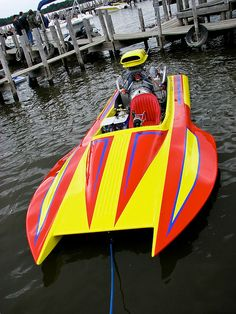 John Groths Sanger Hydro Drag Boat by mcderns, via Flickr