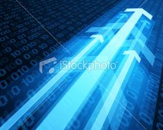 3g graph arrows move up with numbers Royalty Free Stock Vector Art Illustration