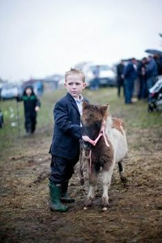 a boy and his pony, county galway. shot by eamon ward.