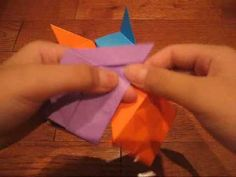 ▶ How To Fold ~ Japanese Brocade - YouTube