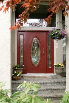 Red Front Door - Benjamin Moore Sangria