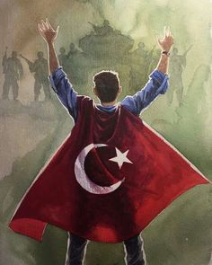 #15Temmuz ☝#Turkey Empire Wallpaper, Turkish Soldiers, Hammer And Sickle, Art Of Love, Thing 1, Instagram Story Ideas, Boy Photos, Ottoman Empire, Nature Photography