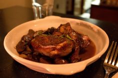 French Chicken Stew with Red Wine
